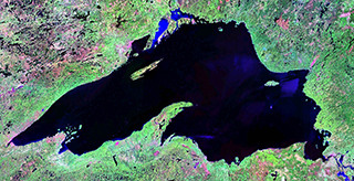 Lake Superior (NASA/LandSat image)